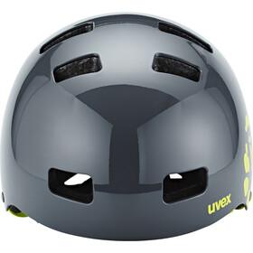 UVEX Kid 3 Helmet Barn dirtbike gray-lime